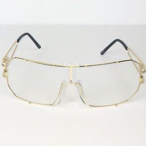 Accessories - Retro Gold Sunglasses UV400